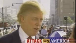 Donald Trump en interview sur NBC News deux jours après l'attentat du 11 septembre 2001.