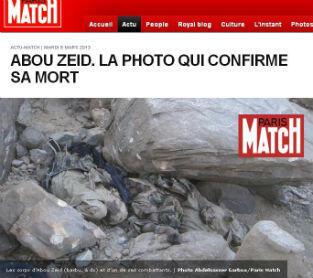 Selon le journaliste tchadien Abdelnasser Garboa cité par Paris Match, il s'agirait d'Abou Zeid.