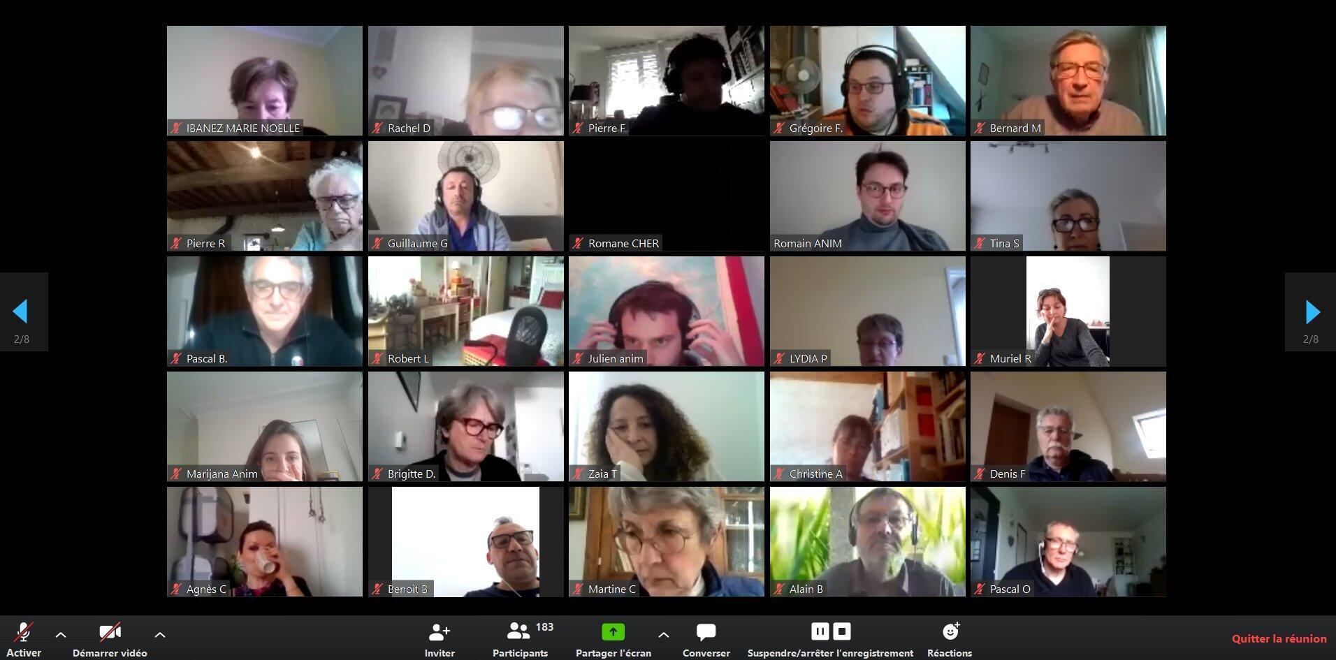 Los 150 miembros de la convención ciudadana por el clima CCC se reúnen actualmente de manera virtual. De esta manera decidieron las 50 propuestas enviadas al presidente Macron para salir de la crisis del Covid 19 de manera responsable.