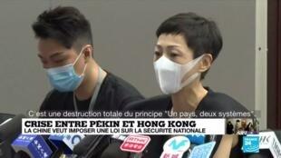 """2020-05-22 14:04 Loi de sécurité nationale de Pékin : """"Xi Jinping est en train de brûler Hong Kong"""""""