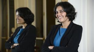 Myriam El Khomri, protégée de François Hollande et de Manuel Valls, a été propulsée ministre du Travail mercredi 2 septembre.