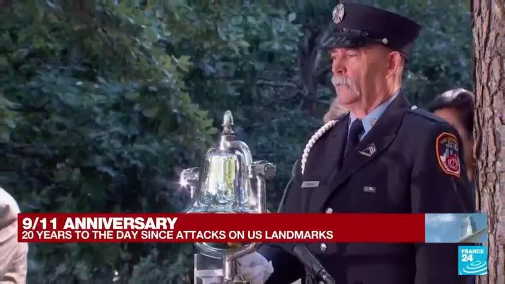 2021-09-11 16:28 9/11 anniversary: Sixth moment of silence to mark North Tower fall