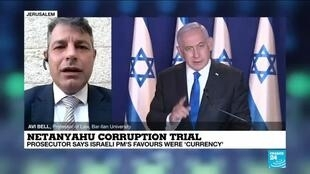2021-04-05 16:03 Netanyahu corruption trial: Prosecutor says Israeli PM's favours were 'currency'