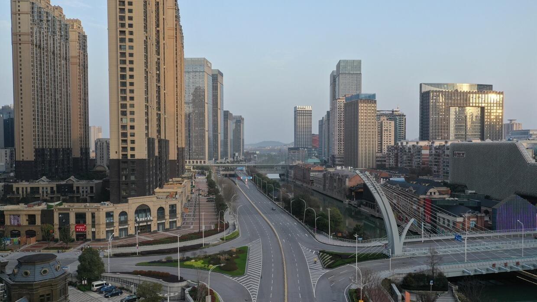 Wuhan, dans la province centrale du Hubei, en Chine, le 10 mars 2020.