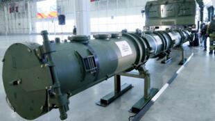 Le missile russe SSC-8/9M729 qui, selon Washington, violerait le traité nucléaire FNI.