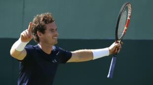 Andy Murray a mené les siens à la victoire dimanche.