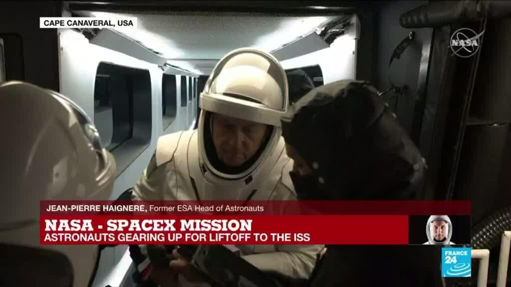 2021-04-23 09:01 SpaceX launch: what will astronauts control during launch?