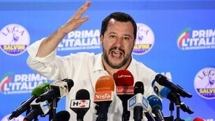 Italian Interior Minister Matteo Salvini pushed to further tighten a crackdown on migration