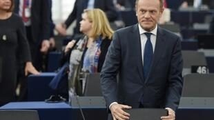 "European Council president Donald Tusk has personally proposed a ""flextension"" to Brexit, which could delay the UK's departure for up to a year, or shorter if British lawmakers manage to approve a deal"