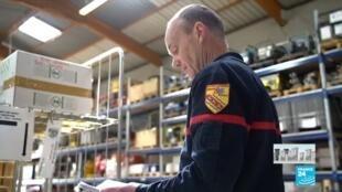 2020-04-08 13:02 Coronavirus en France : Les pompiers se mobilisent pour les hôpitaux et les Ehpad