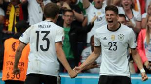 Mario Gomez a inscrit le seul but de la soirée côté allemand.