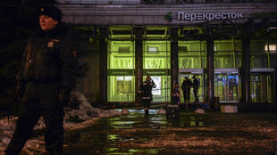Selon des médias russes, la bombe était dissimulée dans une consigne.