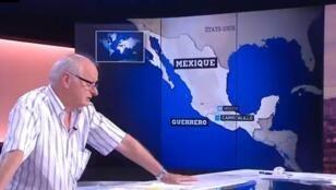 Le chercheur Jean Rivelois, chargé de recherche à l'Institut de recherche pour le développement (IRD), était l'invité de France24.