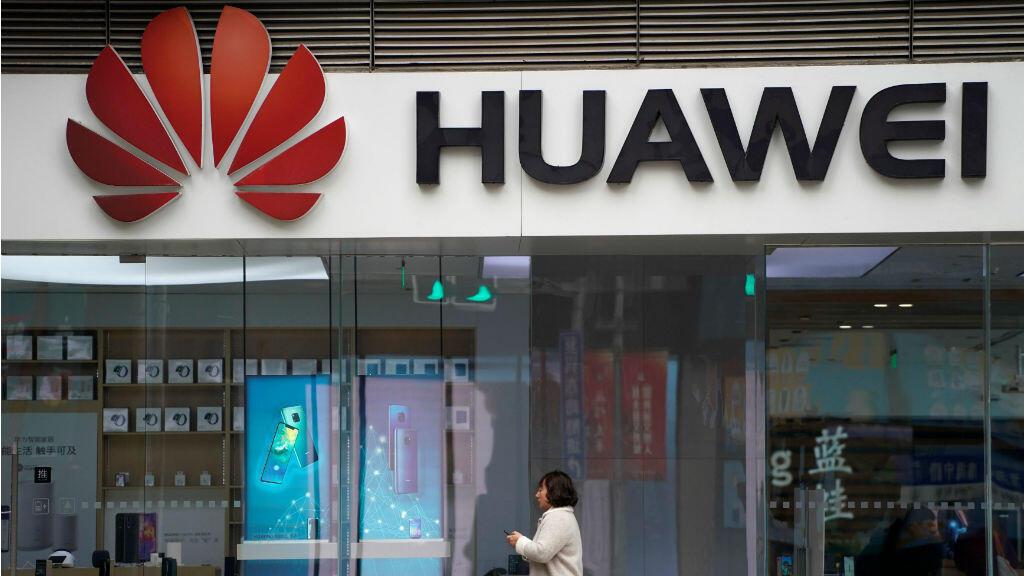 Una tienda Huawei en un centro comercial en Shanghai. 6 de diciembre de 2018.