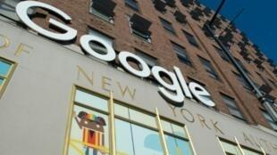 Image d'illustration d'une enseigne de Google photographiée à New York le 1er novembre 2018