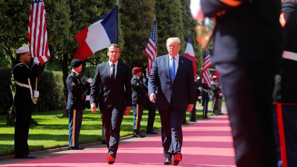 قادة العالم يحيون الذكرى 75 لإنزال قوات الحلفاء على شواطئ نورماندي الفرنسية