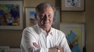 Le dessinateur Albert Uderzo.