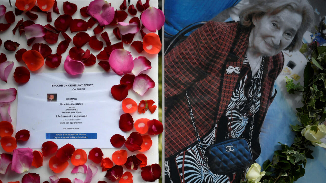 French trial starts over brutal murder of Holocaust survivor Mireille Knoll