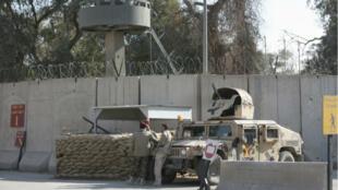Le mur d'enceinte protégeant la zone verte de Bagdad (archives).