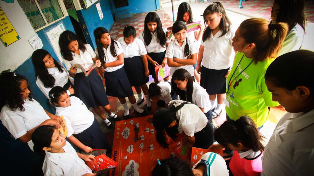 Un 'Comité de Prevención de Violencia de Género' en acción implementado en El Salvador.