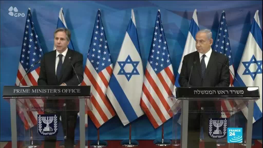 2021-05-25 14:17 Conflit israélo-palestinien : Antony Blinken à la rencontre de Benyamin Netanyahu et Mahmoud Abbas