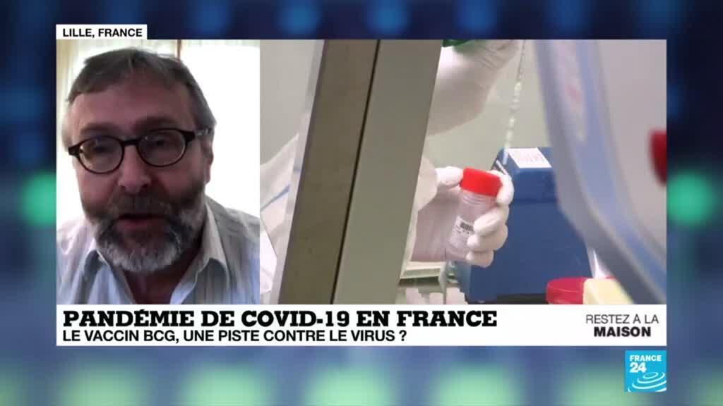 2020-04-02 16:04 Pandémie de Covid-19 : Le vaccin BCG, une piste française contre le virus ?