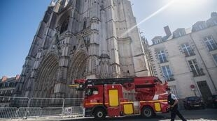 The fire at the Gothic masterpiece in western France broke out on July 18, hours after the volunteer altar server at the cathedral closed the building up for the night.