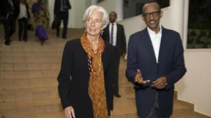 Christine Lagarde effectue une visite de quatre jours dans la capitale rwandaise transformée vingt ans après le génocide.
