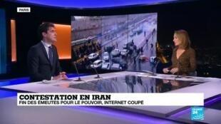 """2019-11-21 21:33 David Rigoulet-Roze :"""" En Iran, la répression est bien plus forte que les fois précédentes"""""""