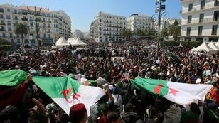 مظاهرة في العاصمة الجزائرية ضد قرارات بوتفليقة - الثلاثاء 12 مارس/آذار 2019