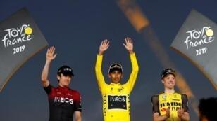 الكولومبي إيغان برنال -22 عاما- أول أمريكي جنوبي يحرز لقب سباق فرنسا للدراجات - 28 يوليو/تموز