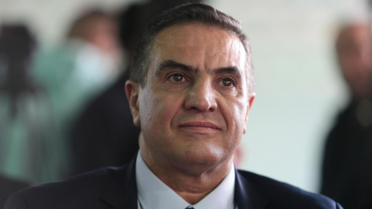 Le candidat Abdelaziz Belaïd, lors d'un meeting à Blida, le 26 novembre 2019.