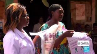 2021-02-03 21:53 Au Cameroun, des femmes sensibilisent sur le cancer du col de l'utérus