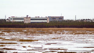 La base militaire de Nyonaksa, dans le Grand Nord de Russie, le 9 septembre 2011.
