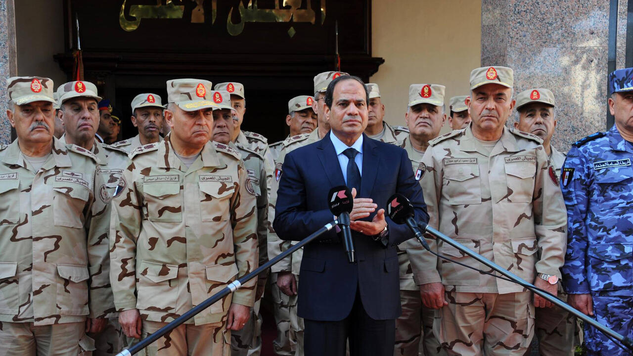 Egypt parliament approves law for military to run in polls - France 24