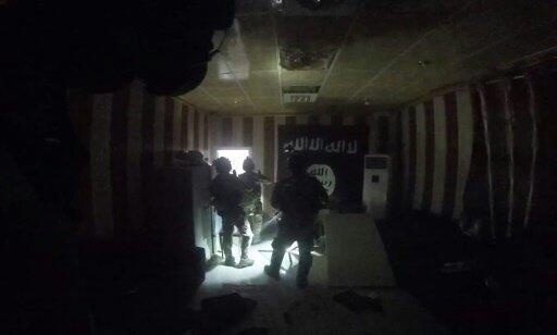 لقطة من فيديو يظهر العملية العسكرية في 25 تشرين الأول/أكتوبر 2015