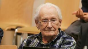 Oskar Gröning, lors de son procès au tribunal de Lunebourg, le 14 juillet 2015