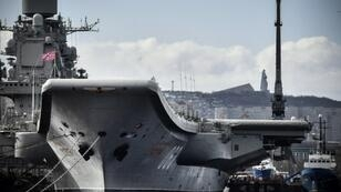 The Admiral Kuznetsov was undergoing its first major repair works since 1997