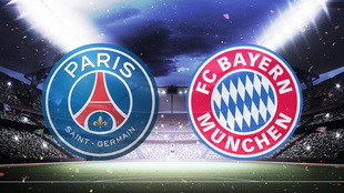 Ligue champions football psg bayern munich