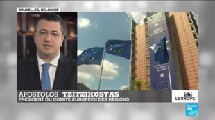 Apostolos Tzitzicostas, président du Comité européen des régions
