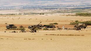 L'armée tunisienne stationnée près du mont Chaambi, région en proie à des attaques jihadistes.