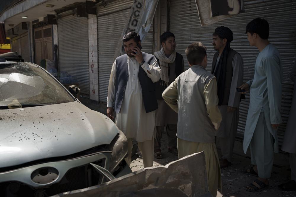 Explosiones Afganistán