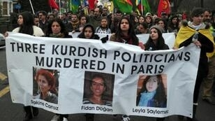 Kurds in a number of countries have called for justice for the three assassinated activists