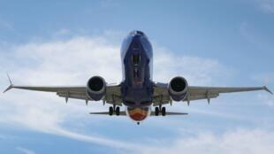 Foto de archivo de un Boeing 737 Max 8