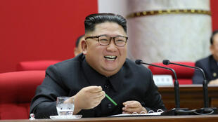North Korean leader Kim Jong Un attends the 5th Plenary Meeting of the 7th Central Committee of the Workers' Party of Korea (WPK) in this undated photo released on December 31, 2019 by North Korean Central News Agency (KCNA).
