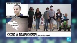 2020-07-27 17:00 Covid-19 en Belgique : de nouvelles mesures pour réduire les interactions sociales