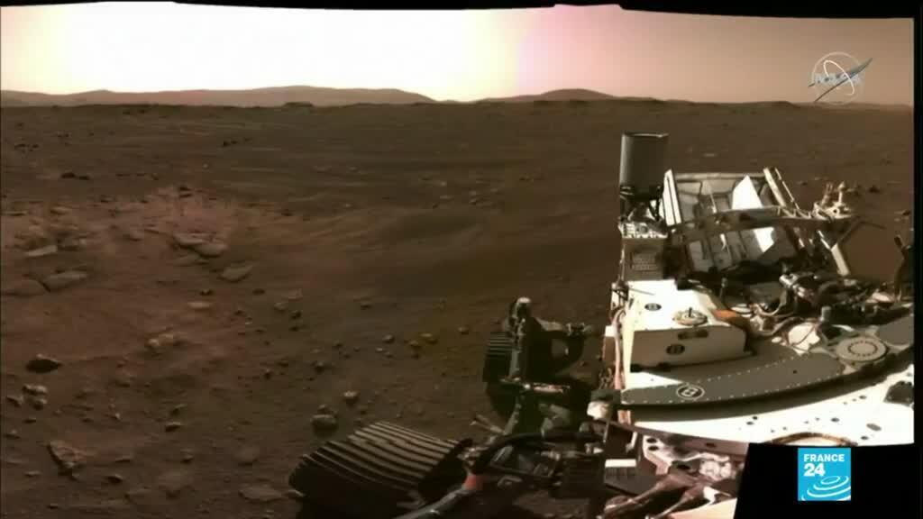 2021-02-23 17:12 Exploration spatiale : le robot Perseverance enregistre du son sur Mars