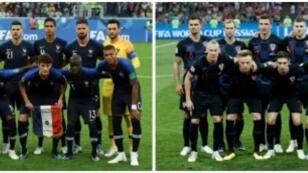 فريق واحد سينال الكأس، فهل هو فرنسا أم كرواتيا؟