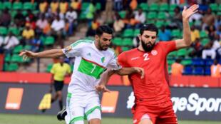 La Tunisie a dominé l'Algérie (2-1), jeudi soir, à Franceville.