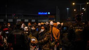 Migrants-Saint-Denis